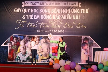 Tre song sinh ca hat gay quy ung ho benh nhi ung thu - Anh 4