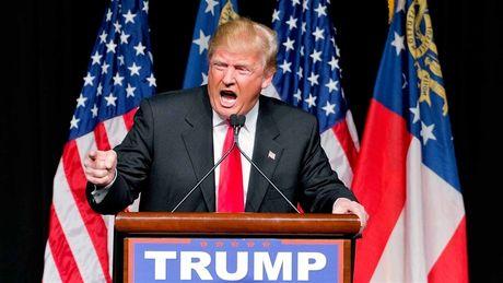 Donald Trump mot tay cham lua gian - Anh 1