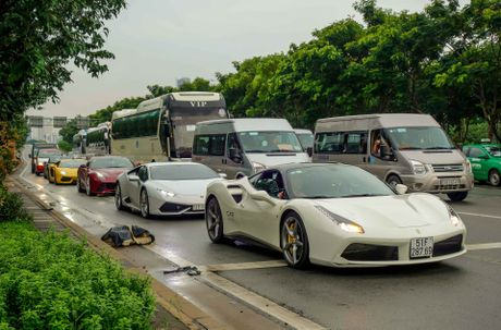 Cuong Do La dan dau doan sieu xe tai khoi dong Car Passion - Anh 8