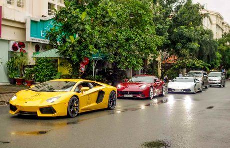 Cuong Do La dan dau doan sieu xe tai khoi dong Car Passion - Anh 9