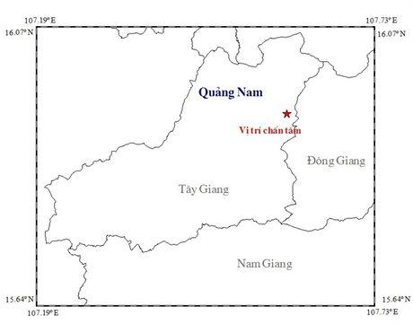 Dong dat 3,4 richter o huyen mien nui tinh Quang Nam - Anh 1