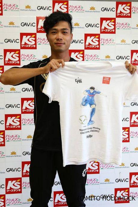 Tuan Anh vang mat, Cong Phuong da 8 phut tai vong 36 J.League 2 - Anh 1