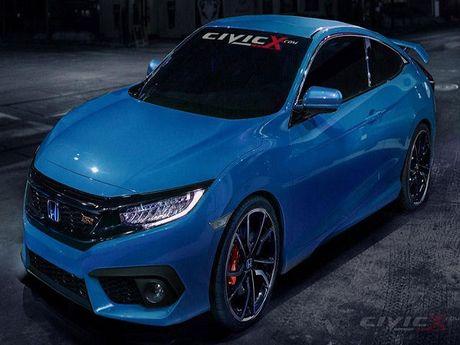 Honda Civic Si se ra mat tai LA Auto Show 2016 - Anh 1