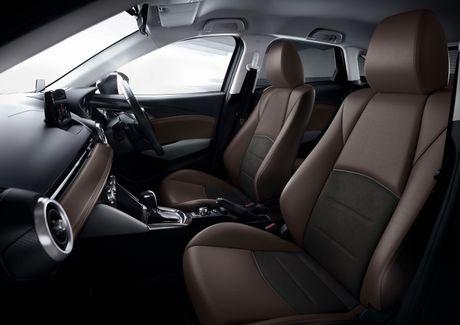 Mazda tung ra phien ban nang cap cua cap doi Mazda2 va CX-3 - Anh 11