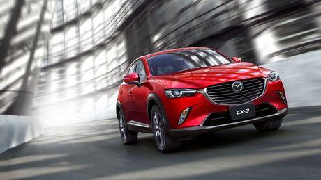 Mazda tung ra phien ban nang cap cua cap doi Mazda2 va CX-3 - Anh 1