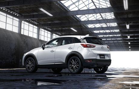 Mazda tung ra phien ban nang cap cua cap doi Mazda2 va CX-3 - Anh 5
