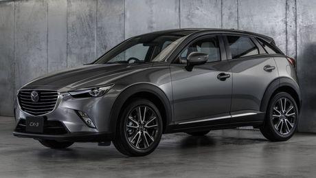 Mazda tung ra phien ban nang cap cua cap doi Mazda2 va CX-3 - Anh 6