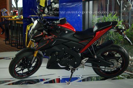 Xe naked bike Yamaha TFX150 chinh thuc chot gia 79,9 trieu Dong tai Viet Nam - Anh 3
