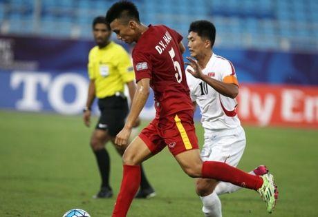 Tac gia sieu pham vao luoi U19 Trieu Tien khong ngan U19 UAE - Anh 1