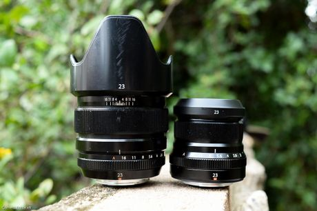 Review nhanh ong kinh Fujifilm XF23mm F2 WR va so sanh voi XF23mm F1.4 - Anh 27