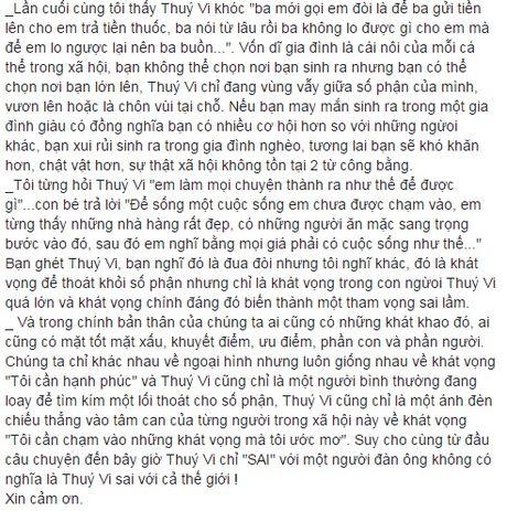 Thong tin chinh thuc moi nhat vu Thuy Vi tu tu va dang hon me sau - Anh 4