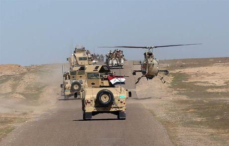 Iraq va dong minh tong tan cong IS giai phong Mosul - Anh 2