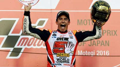 Tin the thao HOT 17/10: Marc Marquez lap hattrick VDTG - Anh 1