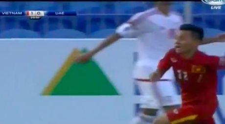 Truc tiep U.19 VN - U.19 UAE 1-0: Ho Minh Di ghi ban tuyet dep - Anh 1
