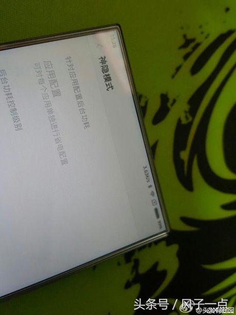 Xiaomi Mi Note 2 lo anh man hinh khong vien - Anh 2
