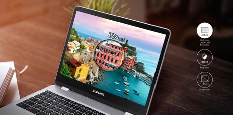 Samsung Chromebook Pro moi: chip 6 nhan, but cam ung - Anh 3