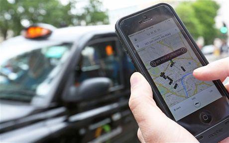 Taxi Uber nhon nho ngoai vong phap luat - Anh 1
