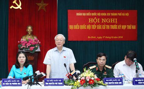 Tong Bi thu: 'Chong noi xam cang kho hon, boi vi tu ta danh vao ta' - Anh 1
