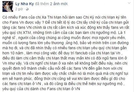 Nguoi dep TVB Xa Thi Man bat ngo khoe anh than thiet ben Ly Nha Ky - Anh 3