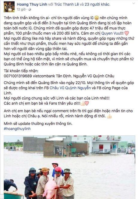 Mien Trung oi! Sao Viet da san sang mang tat ca yeu thuong den voi moi nguoi - Anh 4