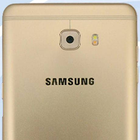 Samsung Galaxy C9 lo hinh anh thiet ke, rat giong Oppo R9s - Anh 1