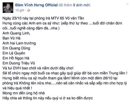 Cac sao Viet chung tay giup do dong bao mien Trung - Anh 4