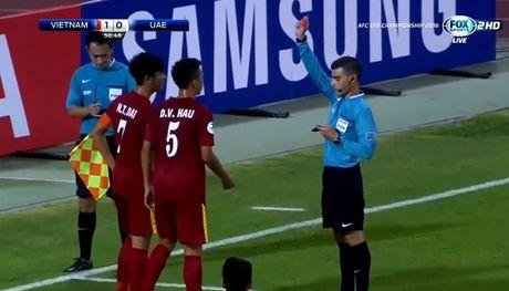 Sai lam cua trong tai khien U19 Viet Nam nhan ban thua oan uong tren cham 11m? - Anh 1