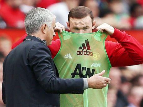 Mourinho thua nhan Rooney dang bi ton thuong - Anh 1