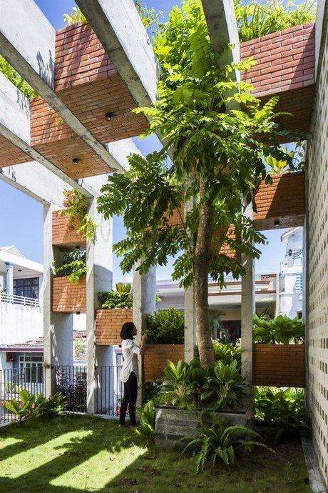 Ngoi nha 240m² cuc nhieu cay xanh, an tuong nhu resort o Da Nang - Anh 20