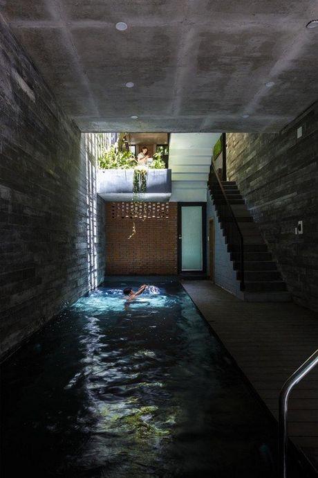 Ngoi nha 240m² cuc nhieu cay xanh, an tuong nhu resort o Da Nang - Anh 4