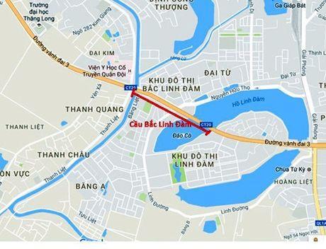 Ha Noi: Xay cau vuot Bac Linh Dam de giai toa un tac - Anh 1