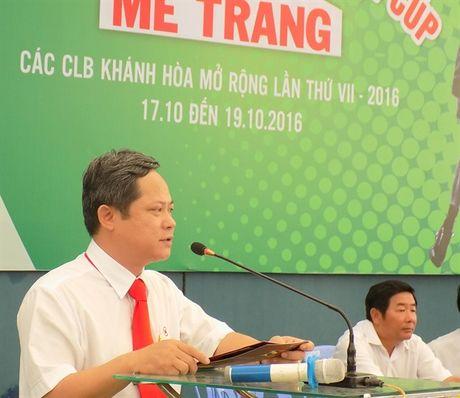 Khai mac giai quan vot Khanh Hoa mo rong cup Me Trang lan thu VII - Anh 2