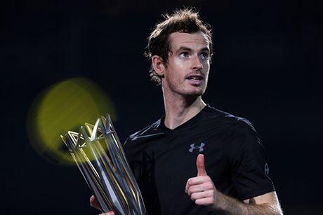 Andy Murray dang quang ngoi vo dich Thuong Hai Masters - Anh 1