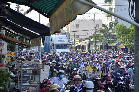 Nguoi dan TP HCM chon chan tren pho do trieu cuong - Anh 7