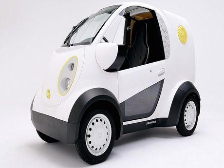 Honda tiet lo mau Micro Commuter EV moi - Anh 1