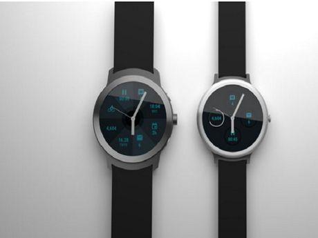 Google se phat hanh 2 smartwatch vao dau nam 2017 - Anh 1