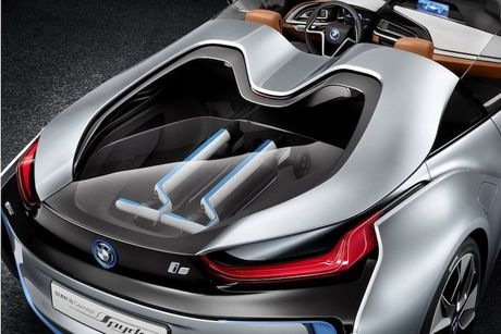 Sieu xe 'xanh' BMW i8 se co ban mui tran Roadster - Anh 6