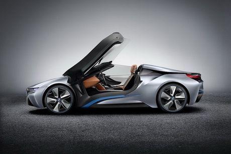 Sieu xe 'xanh' BMW i8 se co ban mui tran Roadster - Anh 8