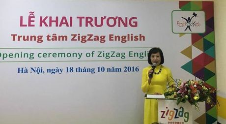 Ha Noi: Khai truong Trung tam tieng Anh thong minh cho tre - Anh 3