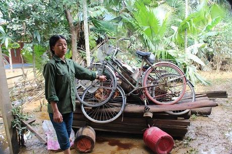 Quang Binh: Tan Hoa tan hoang sau lu du - Anh 9