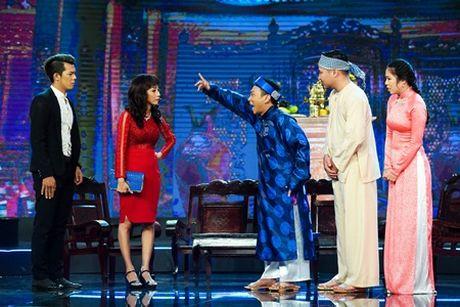 Bang Di do giong khung voi Le Nhu, Thu My tai Gala Lang Hai Mo Hoi - Anh 4