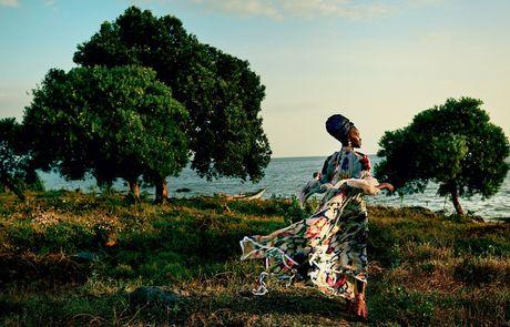 Lupita Nyong'o ruc ro sac mau o Kenya - Anh 2