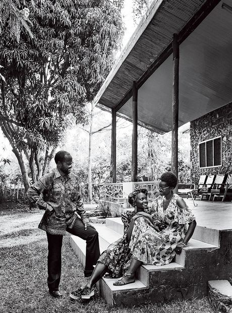 Lupita Nyong'o ruc ro sac mau o Kenya - Anh 5