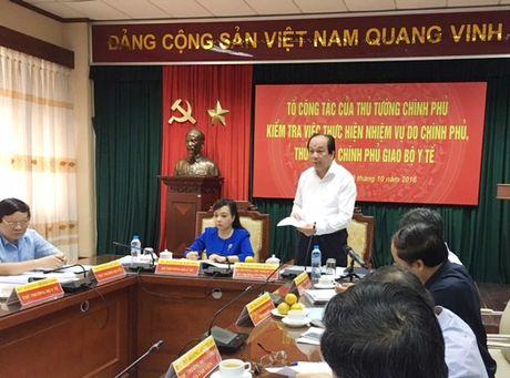 To cao Vu truong Bo Y te khong co bang chung - Anh 1