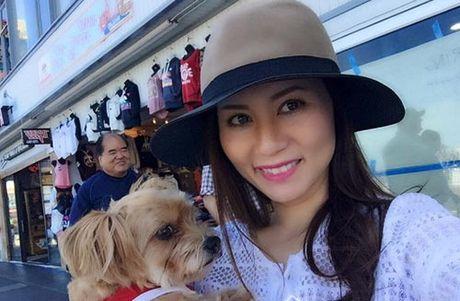 Vo Dan Truong khoe bung bau nhung thang giua thai ky - Anh 6