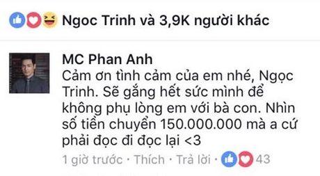 """Ngoc Trinh bi nghi ngo """"lam mau"""" khi ung ho 150 trieu cho nguoi dan Mien Trung - Anh 2"""