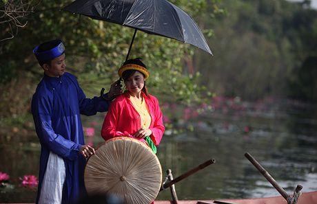 Hoa sung dep me hon tren dong suoi Yen - Anh 10