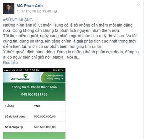 Cac nhom hoi nghe si chung tay huong ve mien Trung - Anh 2
