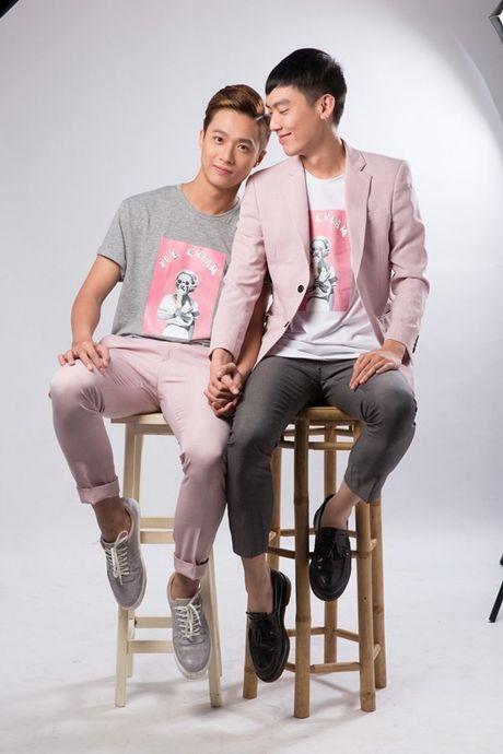Cap doi dong tinh trai long ve vai dien gay chu y trong 'Sai Gon anh yeu em' - Anh 1