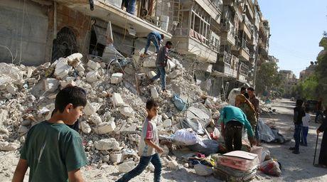 Nga, Syria bat ngo ngung khong kich Aleppo som hon ke hoach - Anh 1